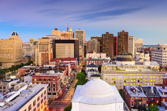 Baltimore Maryland Skyline royalty free stock photo