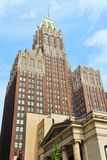 Baltimore. Maryland in the United States. Famous Art Deco Bank of America Building dating back to 1924 stock image