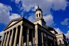 Baltimore, MD:  1821 Baltimore Basilica Stock Image
