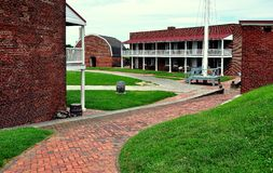 Baltimore, MD: Fort McHenry Fotografia Stock
