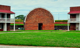 Baltimore, MD: Fort McHenry Powder Magaine Stock Photo