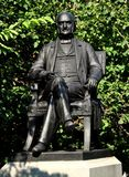 Baltimore, MD: George Peabody Sculpture Royalty Free Stock Image
