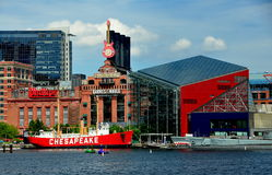 Baltimore, MD: National Aquarium at Inner Harbor Stock Image