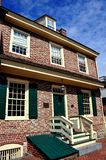 Baltimore, MD: 1765 Robert Tęsk dom Obrazy Stock