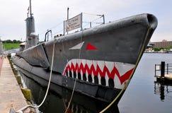 Baltimore, MD: U. S. S. Torsk Submarine Royalty Free Stock Photo