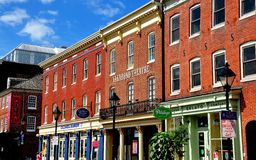 Baltimore, MD: Vagabond Theatre at Fells Point Royalty Free Stock Photo