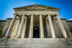 The Baltimore Museum of Art, in Charles Village, Baltimore, Mary. Land royalty free stock photos