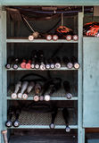 Baltimore Orioles Bat Rack Royalty Free Stock Photo