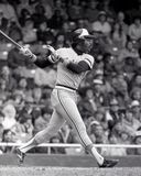 Eddie Murray. Baltimore Orioles Hall of Fame slugger Eddie Murray. Image taken from B&W negative Stock Photography