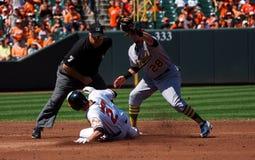Baltimore Orioles JJ résistentes foto de stock