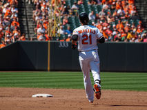 Baltimore Orioles Nick Markakis Royalty Free Stock Images