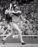 Ken Singleton. Baltimore Orioles Outfielder Ken Singleton. Image taken from B&W negative Stock Photography