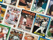 Baltimore Orioles Stars and Legends Baseball Trading Cards