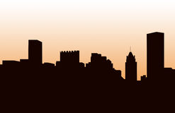 baltimore panoramy s linia horyzontu Obraz Stock