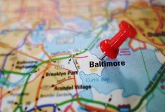 Baltimore Stock Image