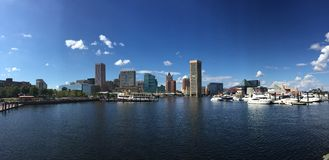 Baltimore's port. Stock Image