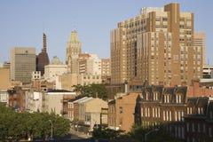Baltimore skyline Royalty Free Stock Photo