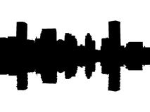 Free Baltimore Skyline Reflected Stock Photography - 10066882