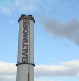 Baltimore Smokestack Royalty Free Stock Image