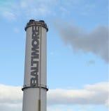 baltimore smokestack Royaltyfri Bild