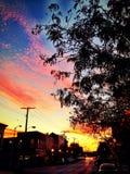 Baltimore-Sonnenuntergang Lizenzfreie Stockfotos