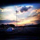 Baltimore sunset Royalty Free Stock Image