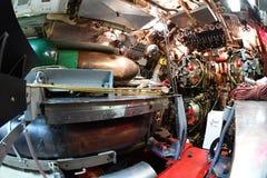BALTIMORE, usa inside brozmy ii wojny światowa widoku szczegółu podwodny zakończenie up - CZERWIEC 21 2016 - zdjęcie royalty free