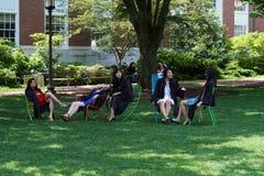 BALTIMORE, usa skalowanie dzień przy John Hopkins uniwersytetem - MAJ 21 2018 - Obraz Stock