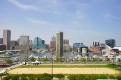 Baltimore världshandel centrerar Fotografering för Bildbyråer