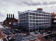 Baltimore. View of Baltimore royalty free stock photo