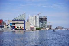 Baltimore world trade center. Baltimore  inner Harbor world trade center Stock Photo