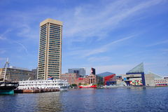 Baltimore world trade center. Baltimore  inner Harbor world trade center Royalty Free Stock Photo