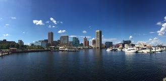 Baltimores Hafen Stockbild