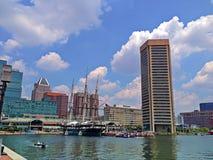Baltimores inre hamn Royaltyfria Foton