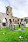 Baltinglass abbotskloster i Irland Arkivfoton