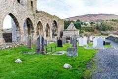 Baltinglass abbotskloster i Irland Fotografering för Bildbyråer