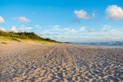 Baltisch strand in palanga Stock Afbeelding