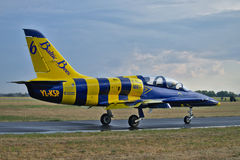 Baltische Bienen-Aerobatic Team Lizenzfreies Stockbild