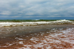 Baltische Wellen. Lizenzfreies Stockbild