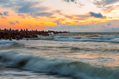 Baltische Wellen Stockbilder