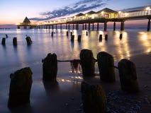 Baltischer Sonnenaufgang lizenzfreie stockbilder