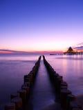 Baltischer Sonnenaufgang stockfoto