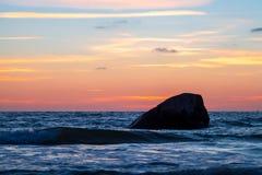 Baltischer Sonnenuntergang Lizenzfreie Stockbilder