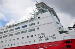 Baltisk färja Mariella, Viking Line Arkivfoton