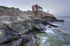 Baltisk llighthouse Arkivbilder