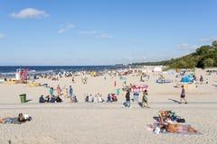 baltiska estonia nära havssomethere tallinn Arkivbilder
