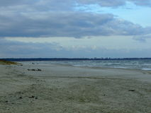 baltiska estonia nära havssomethere tallinn Royaltyfri Bild