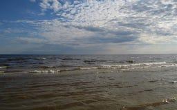 baltiska estonia nära havssomethere tallinn latvia Jurmala Arkivfoton