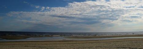 baltiska estonia nära havssomethere tallinn latvia Jurmala Arkivfoto