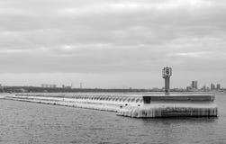 Baltiskt hav för vinter Royaltyfria Foton